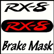 MAZDA RX-8 BRAKE MASK DECAL